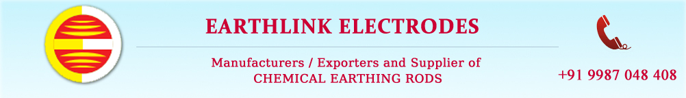 Chemical Earthing Electrodes Manufacturer, Galvanised Iron